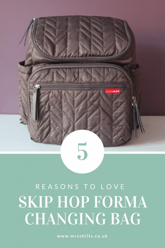 skip hop forma changing bag