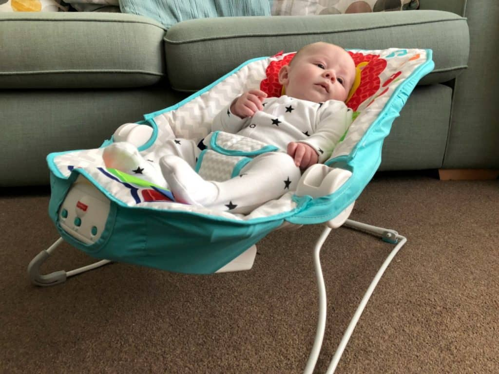 Fisher Price Kick 'N Play Bouncer Chair