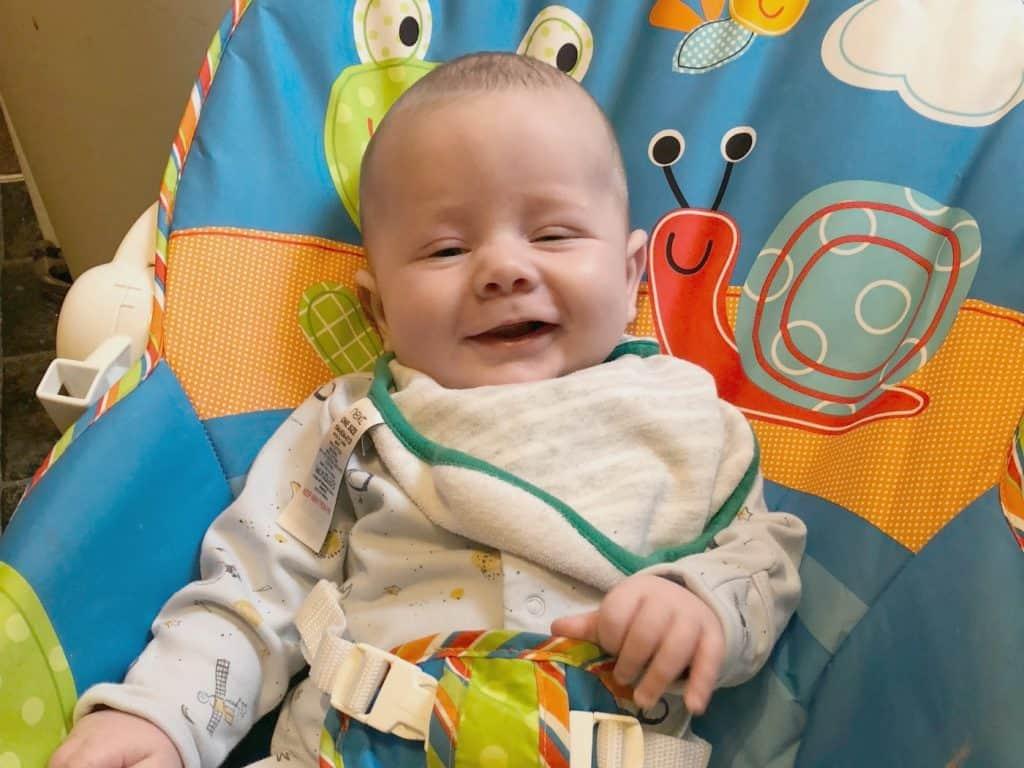Freddie three months old