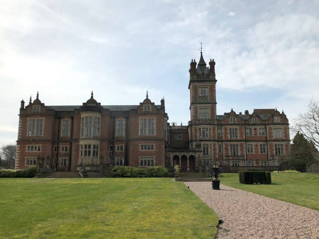 Crewe Hall Cheshire Hotel Mansion qHotel