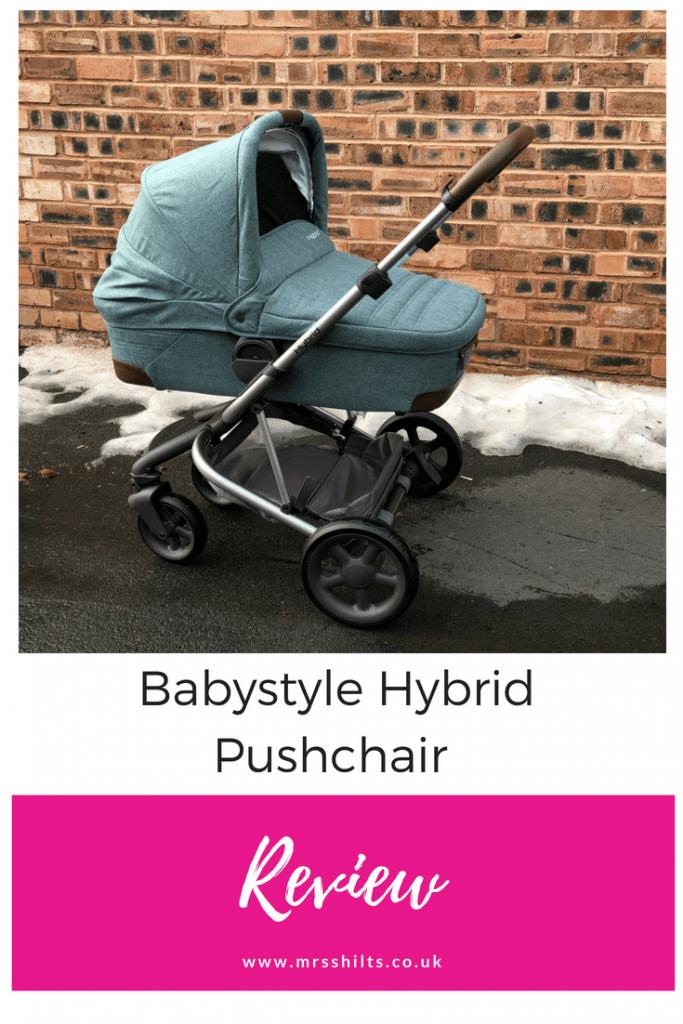 Babystyle Hybrid Pushchair