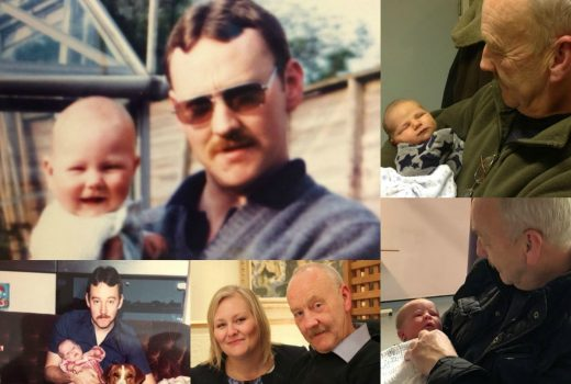 Dad collage 2018