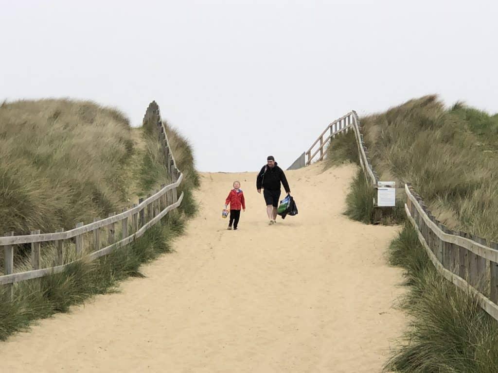 Sand dunes Horsey Norfolk
