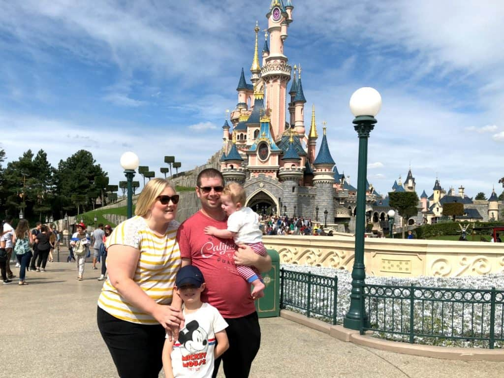 Disneyland Paris August 2018