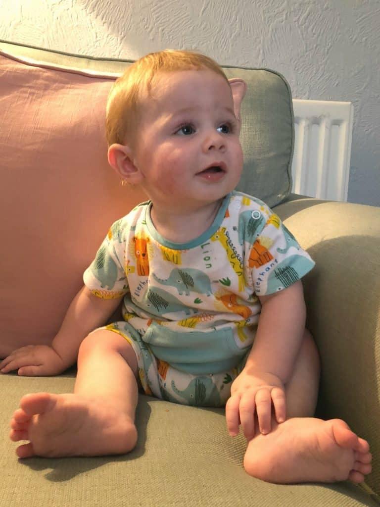 Freddie 8 months old