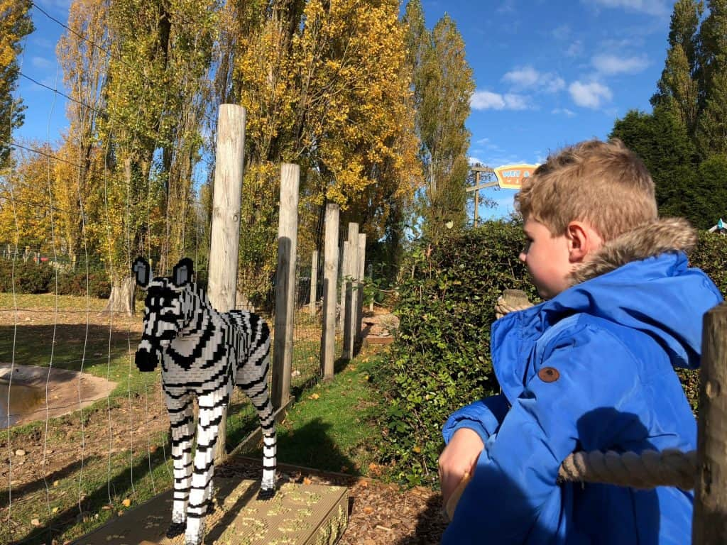 Twycross Zoo Great Brick Safari