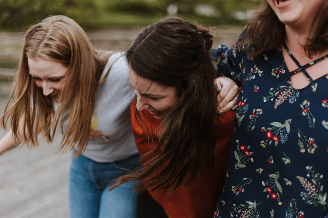 Group of friends ladies