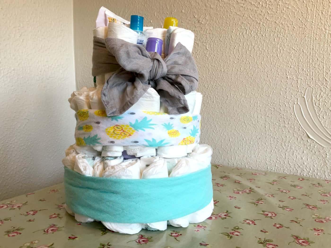 Aldi Mamia Nappy Cake