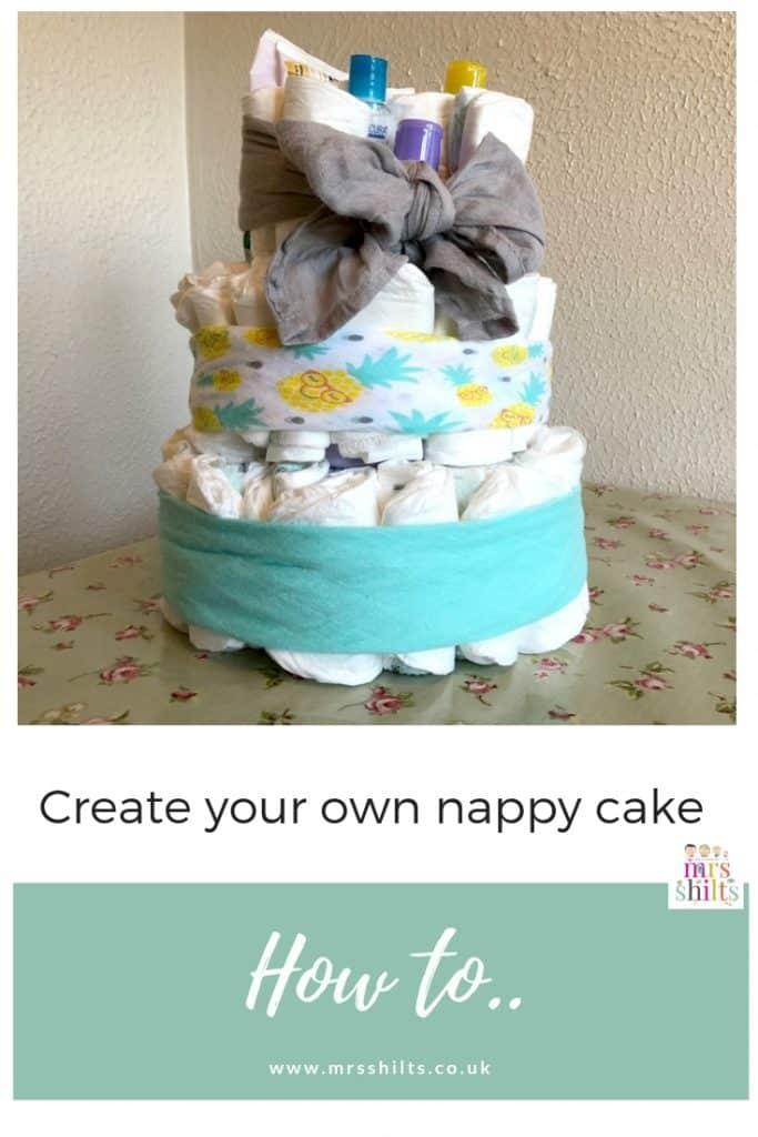 Aldi Mamia Nappy Cake MrsShilts