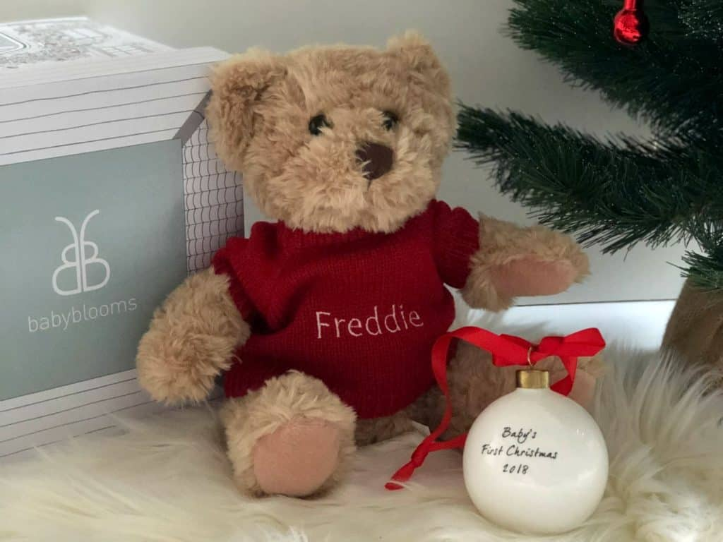 Baby First Christmas Hamper Baby Blooms