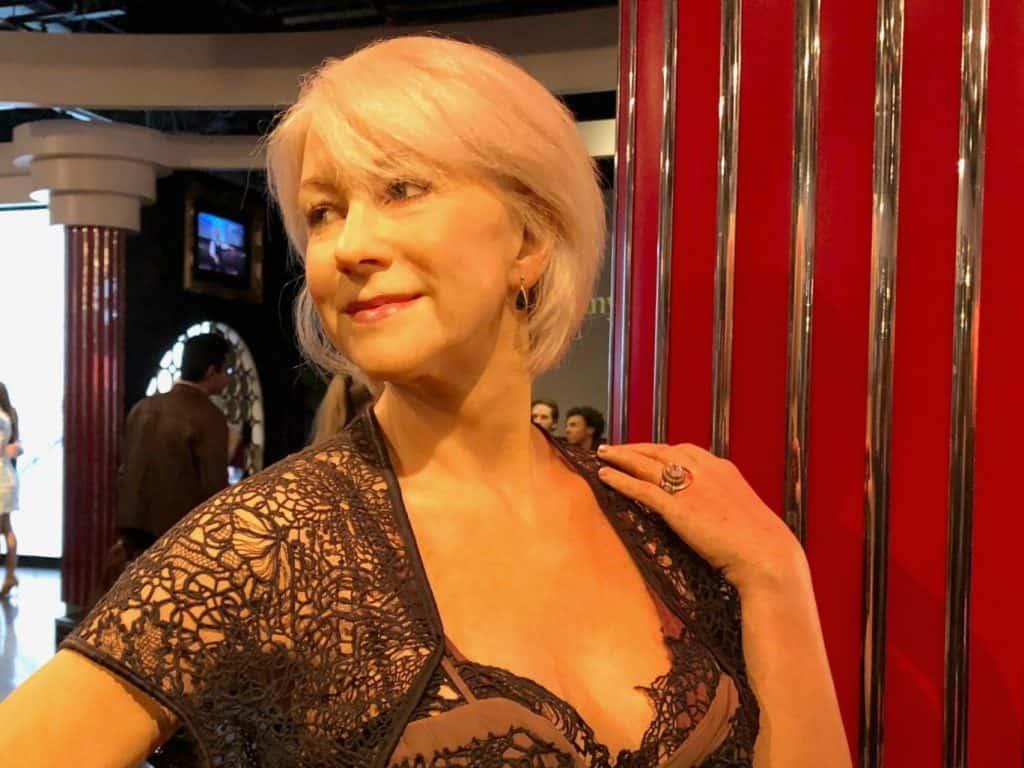 Madame Tussauds Helen Mirren