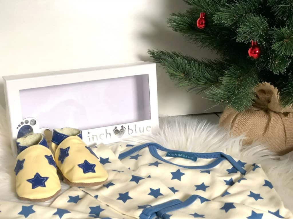 Inch Blue Baby's First Christmas