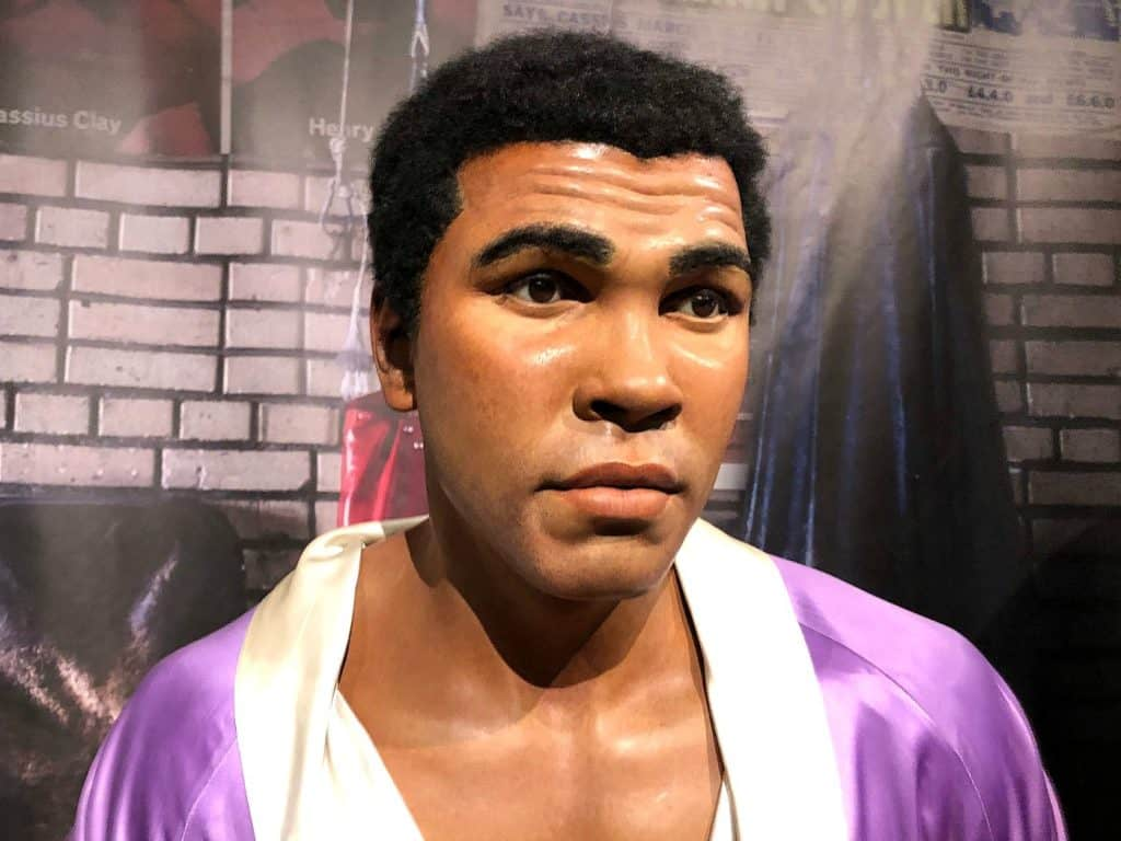 Mohammed Ali Madame Tussauds