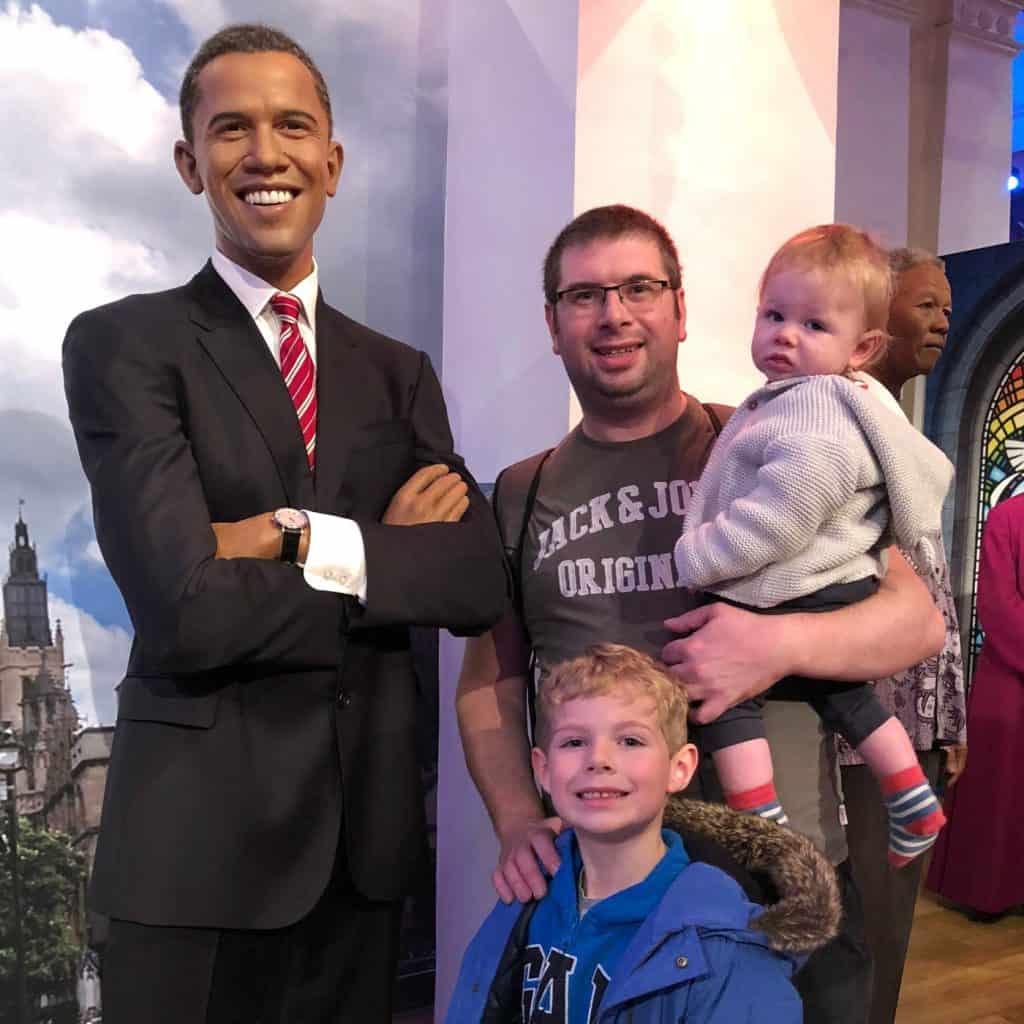 Barack Obama USA POTUS Madame Tussauds