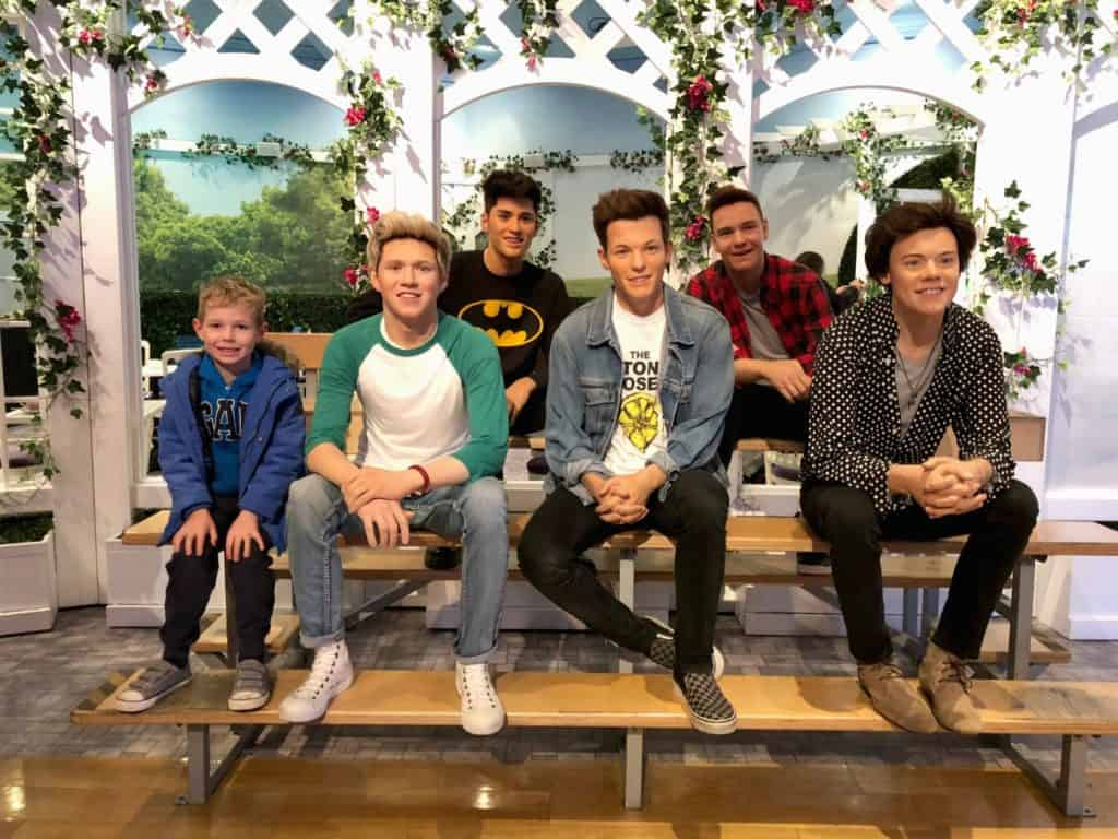 One Direction Madame Tussauds