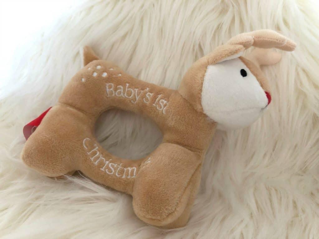 Christmas Eve Box Rattle Reindeer