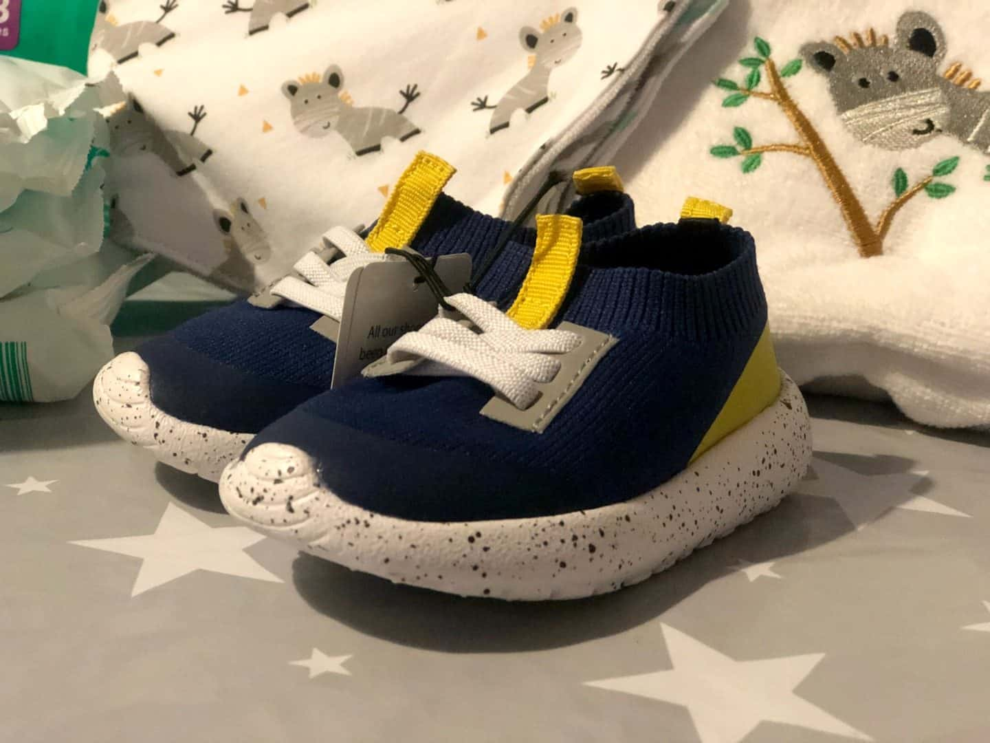 Aldi baby toddler trainers
