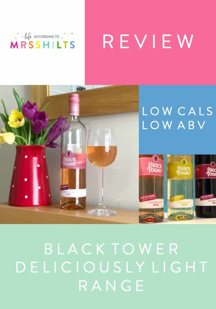 BLACK TOWER DELICIOUSLY LIGHT WINE