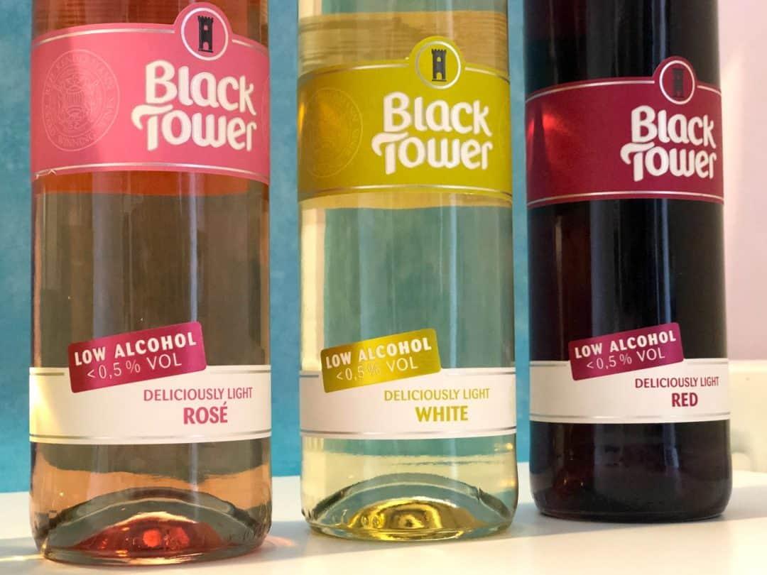 Black Tower Deliciously Light range