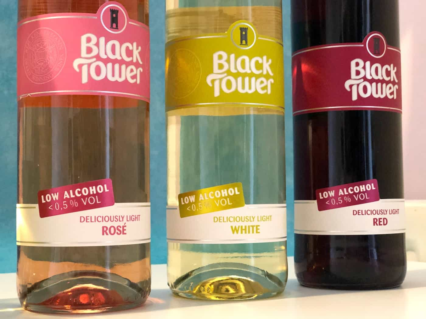 Black Tower Deliciously Light range
