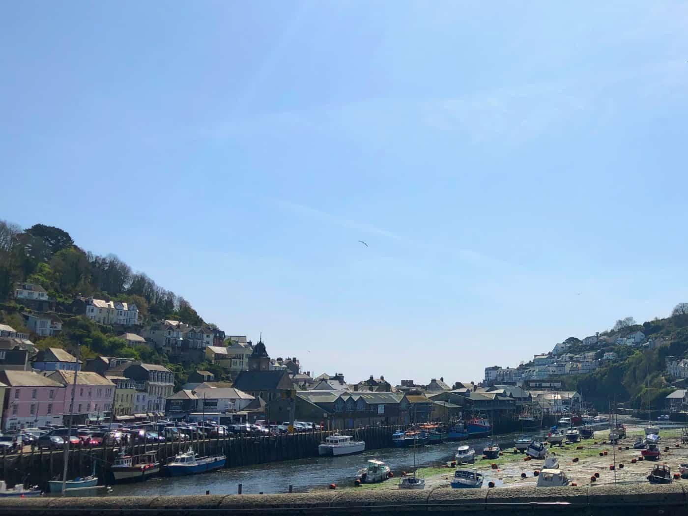 Looe Cornwall from the bridge