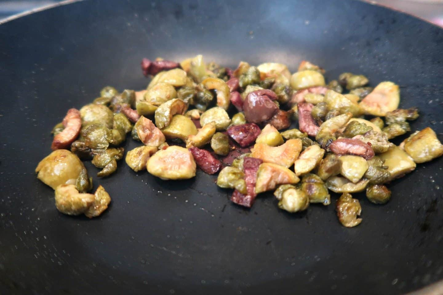Crispy Capers Olives