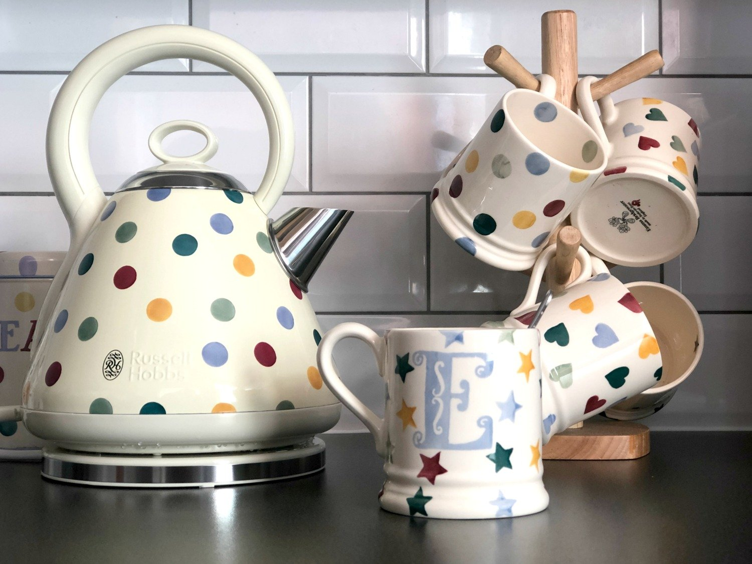 Emma Bridgewater polka dot kitchen appliances