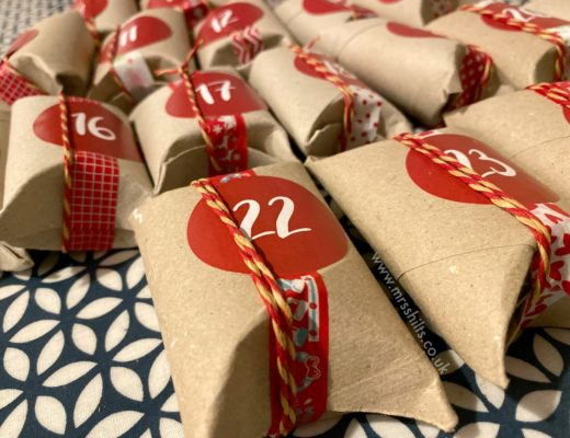 DIY Toilet Roll Advent Calendar MrsShilts