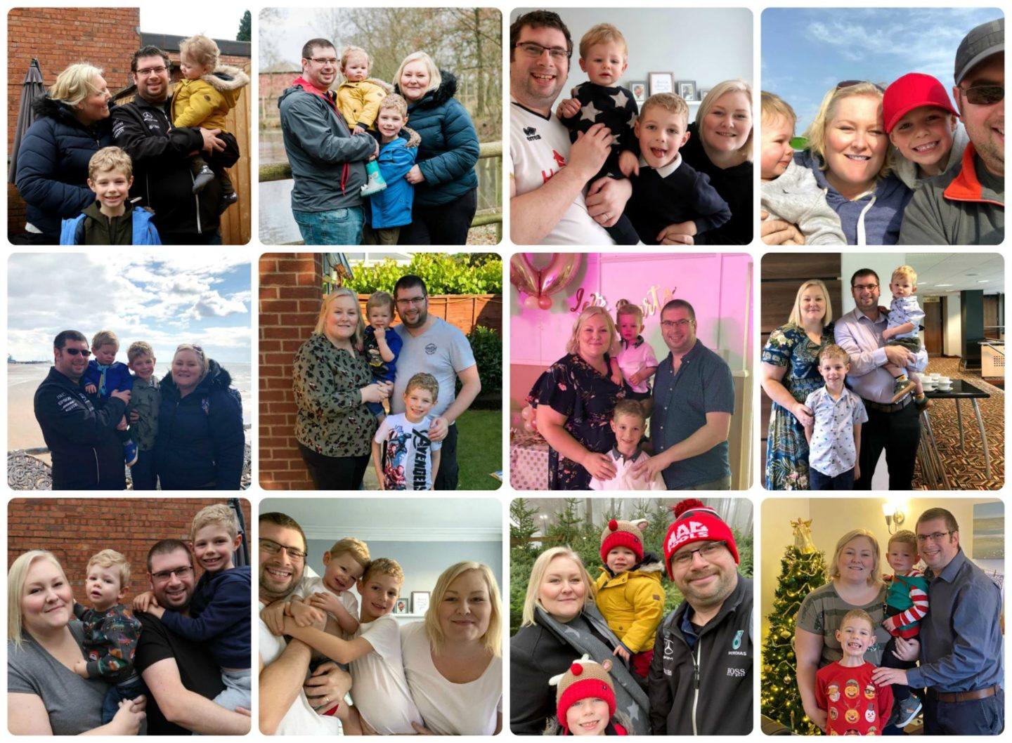 Me and Mine collage 2019
