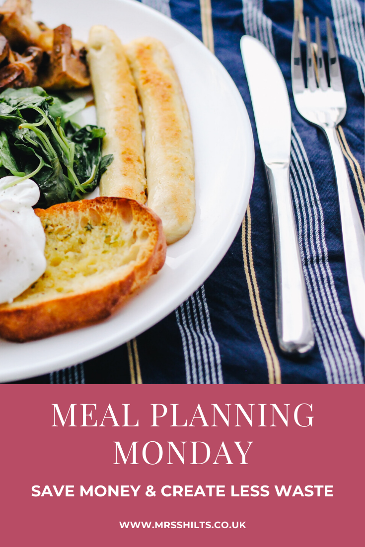 Meal Planning Monday PIN